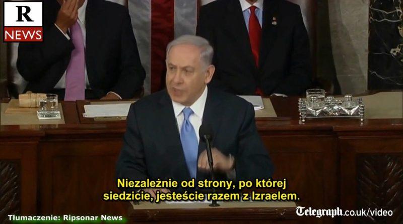 Prawdziwy prezydent USA Benjamin Netanyahu