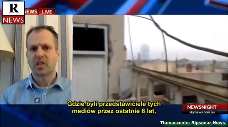 Marcus Papadopoulos. Wschodnia Guta a propaganda Zachodu